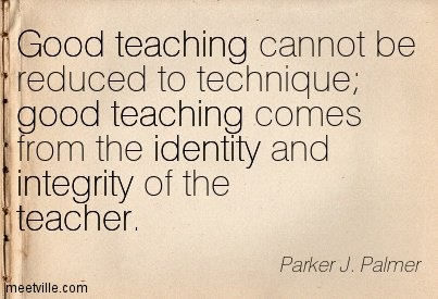 The #integrity &amp; #identity of the #teacher = good #teaching. #InspireThemRetweetTuesday #IQRTG  #education #impact <br>http://pic.twitter.com/qF7bPGdjYp