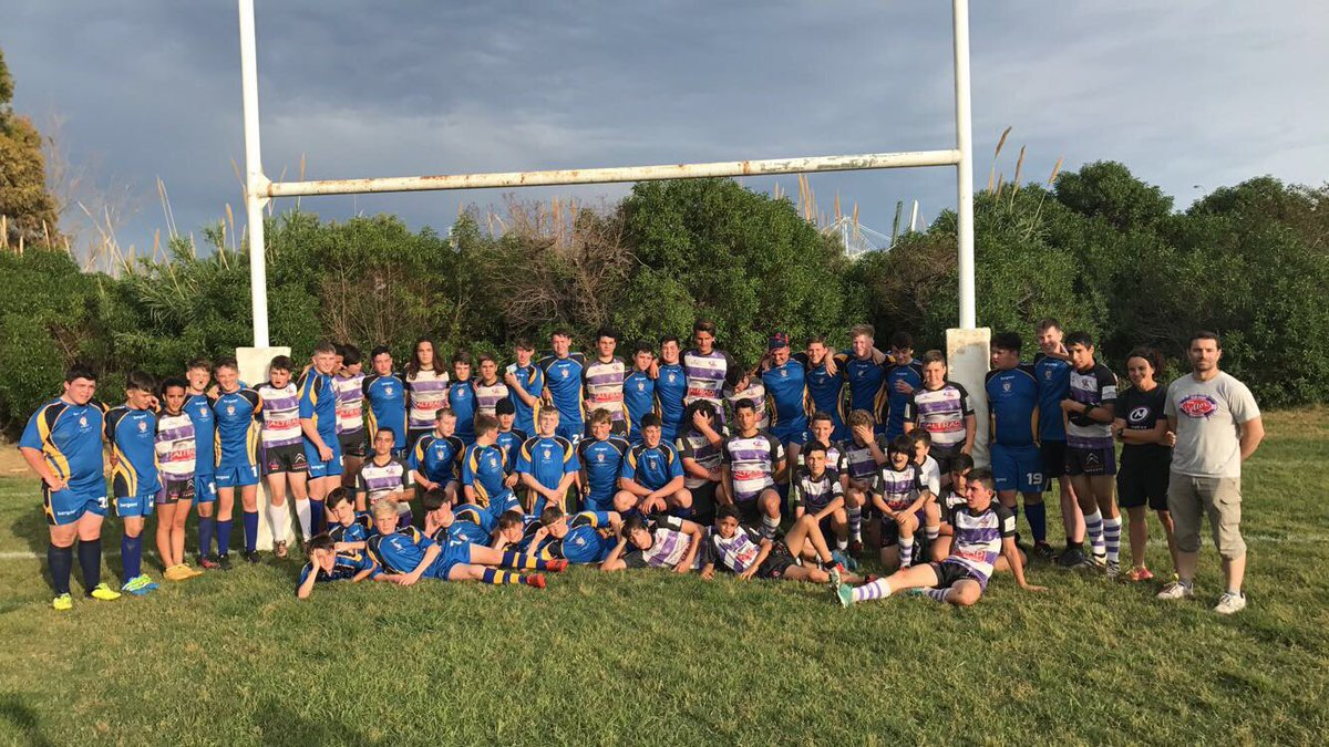 Thank you to @RugbyTarragona for their incredible hospitality. Welcome to Wales anytime. #returnfixture #tour #1down2togo<br>http://pic.twitter.com/ltYLtJzjhR