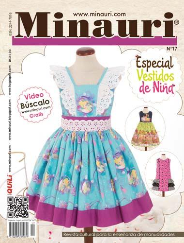 Revista patrones vestidos comunion