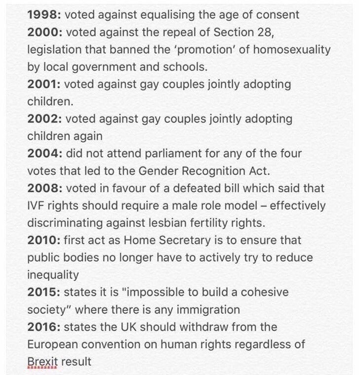 Replying to @christorwho: Since everyone is obsessed with Corbyn's past, let's have a look at Theresa's… #BattleForNumber10