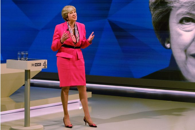 @theresa_may calm and unflustered despite Paxman's attempts to make her wobble #BattleForNumber10  https://t.co/lIo90zUNhY