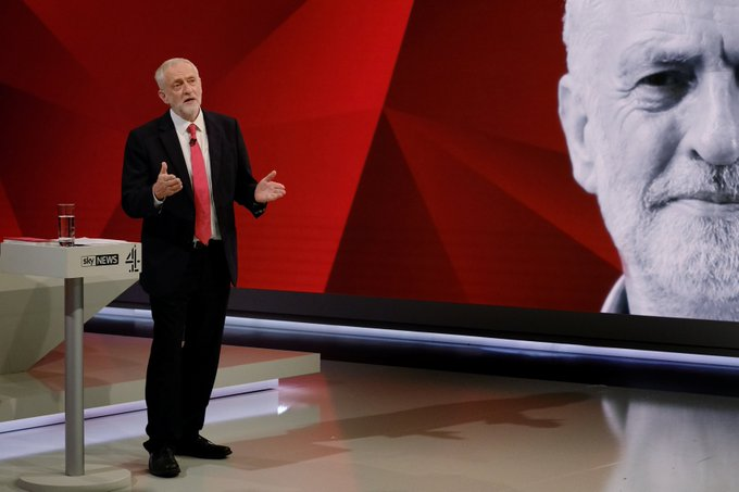 Jeremy Corbyn's TV bid to be prime minister-in-waiting #BattleForNumber10 https://t.co/shZmbfegvQ