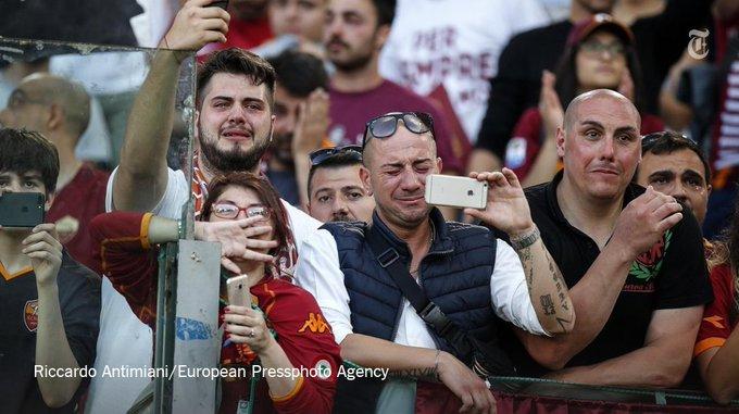 The Golden Child. The Phenomenon. The Captain. Rome's Francesco Totti has left the soccer pitch. https://t.co/s4OiZpabPD