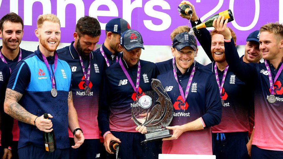 England won the 3-match series by 2-1