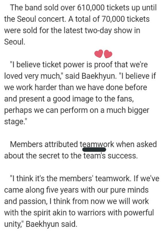 Good article!  #EXO feel our love n they will work harder to give good performance for us How ab ur hardwork #EXOL?  http:// m.yna.co.kr/mob2/en/conten ts_en.jsp?cid=AEN20170528003000315&amp;site=0200000000&amp;mobile &nbsp; … <br>http://pic.twitter.com/R9pByZPqCG