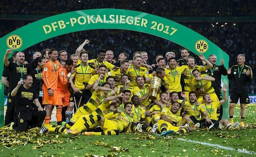 #Borussia have claimed a fourth DFB Cup title  https:// goo.gl/gnE82S  &nbsp;   #DFBCupTitle #Europe #Soccer<br>http://pic.twitter.com/Ti83wIvPcv