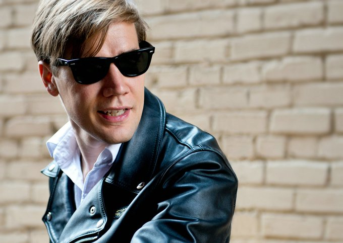 Happy birthday to The Hives\ Pelle Almqvist!