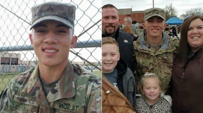 Stranger buys 19-year-old soldier's ticket so he can make it home in time https://t.co/MHue9ok0ny