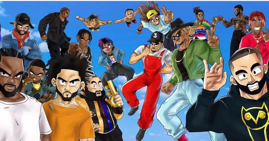 Whoever did this #HipHop x #Dragonball art needs to be @&#39;ed but no #Migos nor #Kendrick <br>http://pic.twitter.com/hpqbjXECAX