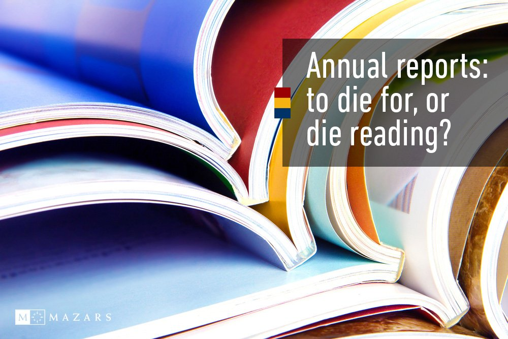 Annual reports: to die for, or die reading? Join the discussion at our Corporate #Reporting &amp; #Governance Forums  http:// maza.rs/4d3G30c4vpx  &nbsp;  <br>http://pic.twitter.com/3D9ksf51c4