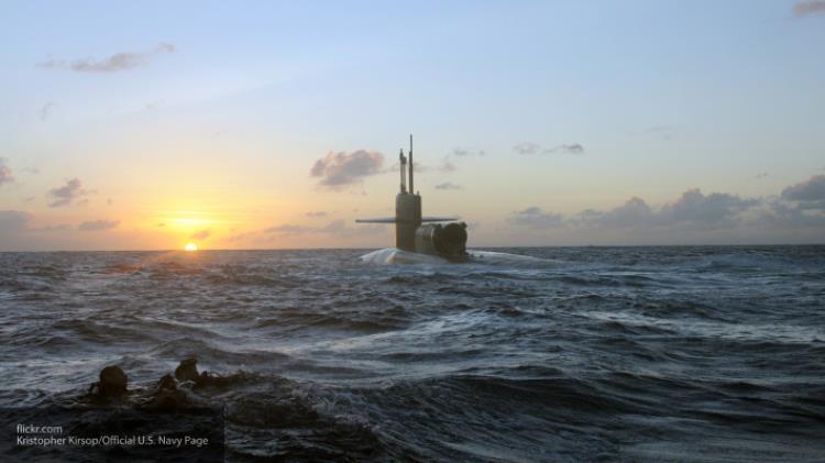 дизельная подводная лодка с реактором