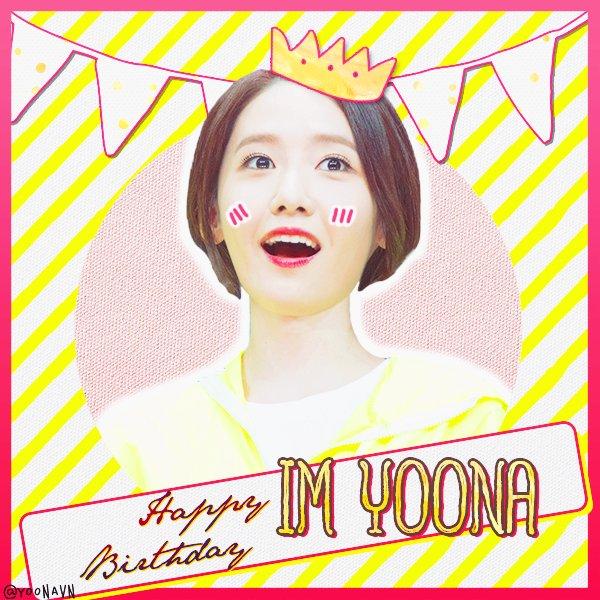 Happy Birthday my goddess IM YOONA