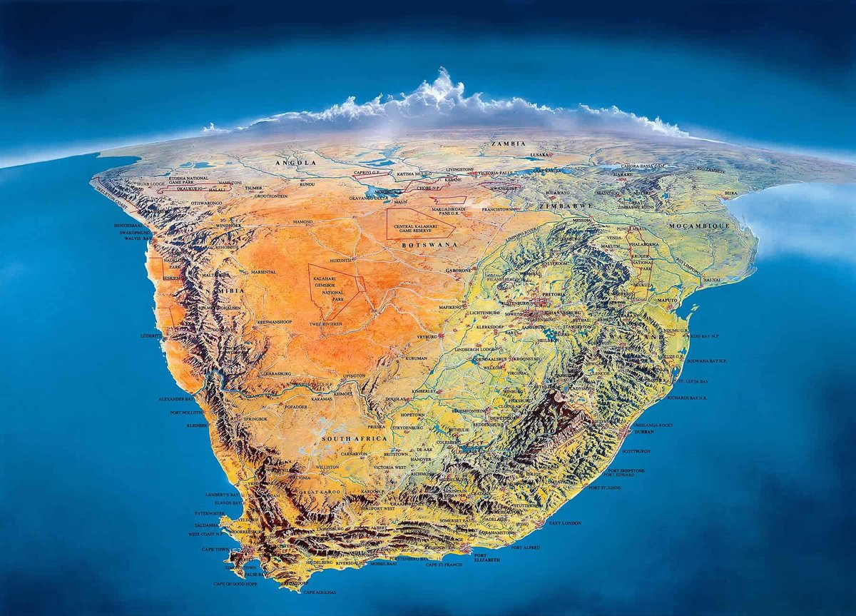Picture of: Simon Kuestenmacher On Twitter Gorgeous Hand Drawn Topographic Map Of Southafrica Exaggerates Mountains To Highlight Geography Https T Co Bmdyupy6iv Https T Co Di6tphs1jn