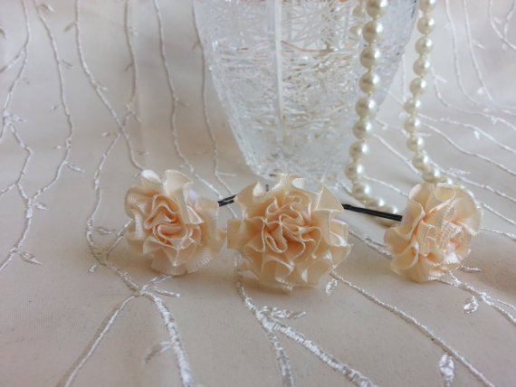Delicate #Flower Hairpins #accessories #hair #watch #belt #weddings  http:// etsy.me/2sfXsAc  &nbsp;  <br>http://pic.twitter.com/3IYctaapmF