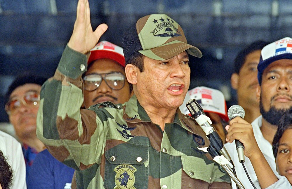 BREAKING: Manuel Noriega the former Panamanian dictator who was removed from power following an invasion by U.S forces in 1989 has died.