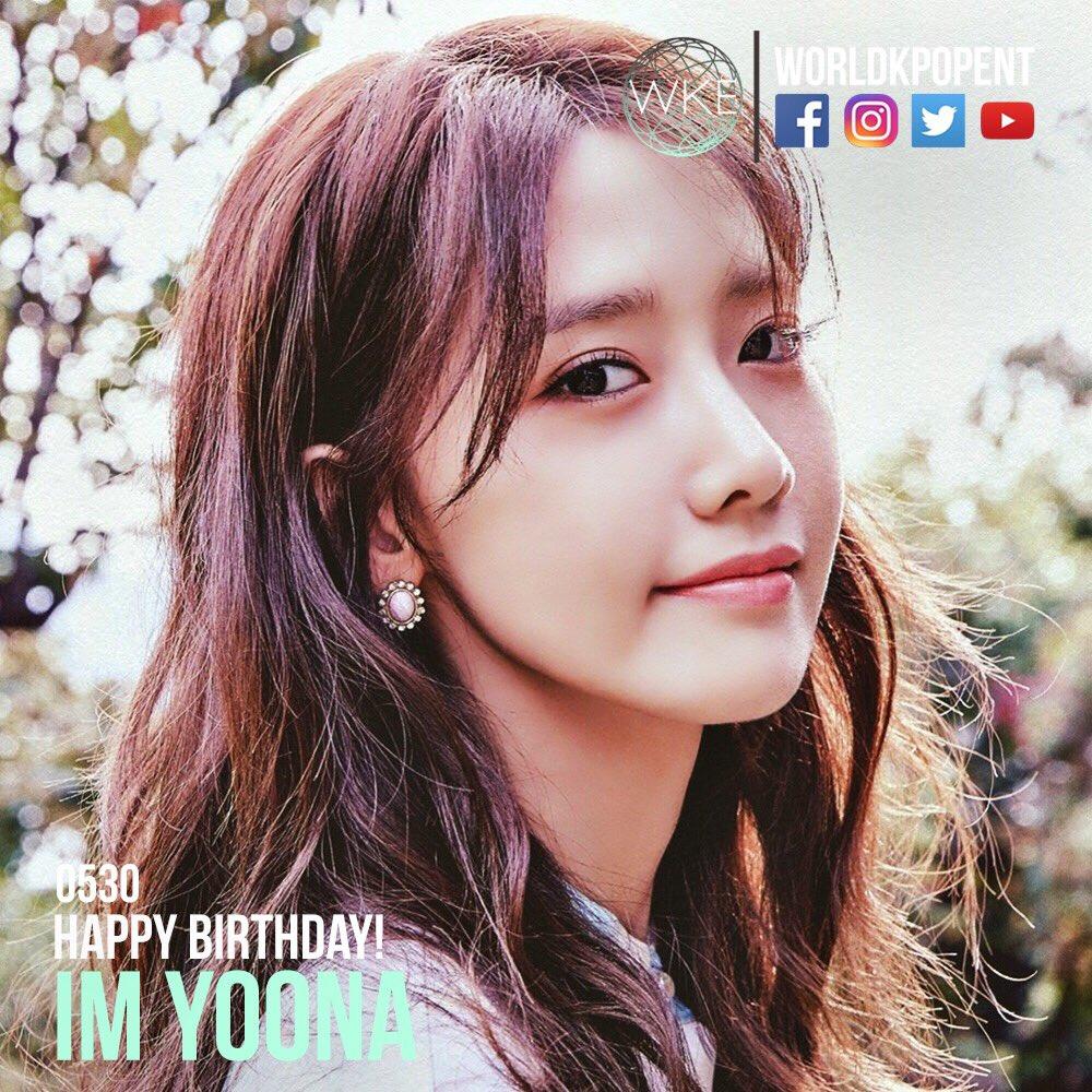 Happy Birthday to Im Yoona!