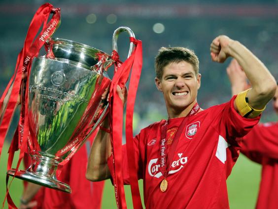 Happy 37th birthday to Steven Gerrard!