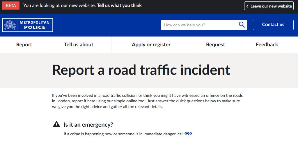 Have you been involved in a #Collision? Or do you need to report #DangerousDriving? You can do it online here  http:// bit.ly/2eRjeoA  &nbsp;  <br>http://pic.twitter.com/59lQEZV76a