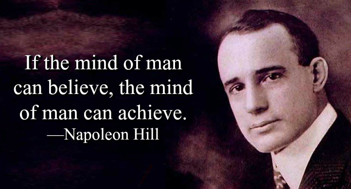If the mind of man can believe, the mind of man can achieve. - Napoleon Hill #quote <br>http://pic.twitter.com/A9VHEX35dX