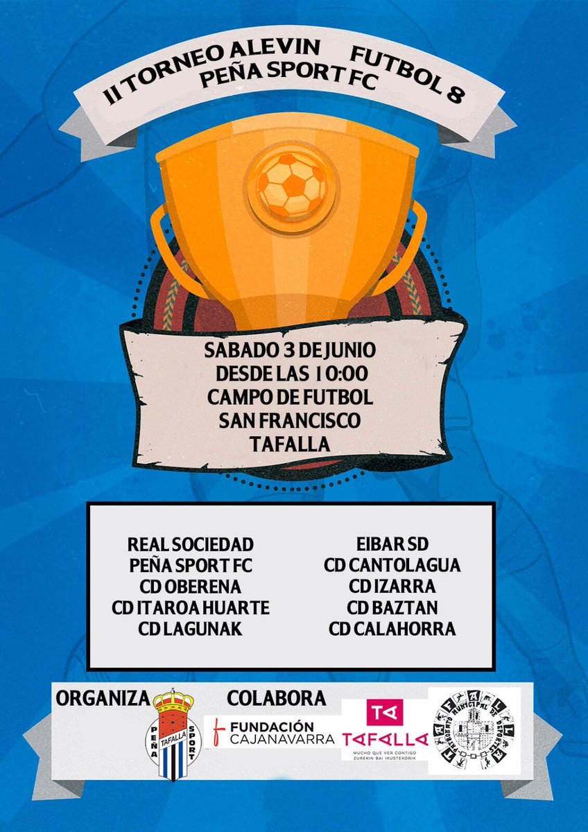 DESDE LA BANDA - FÚTBOL NAVARRO Peña Sport Fútbol Club de Tafalla