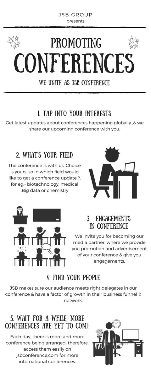 We Promote, We Advertise,We Impact. #broadcast #conference #alerts #medical #biotech #pharmacy #chemical #chemistry  http://www. jsbconference.com/conference/upc oming &nbsp; … <br>http://pic.twitter.com/4Mo8QMvRLt