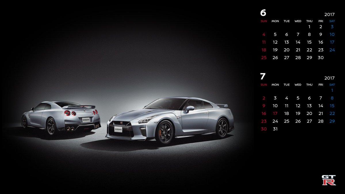 ট ইট র 日産自動車株式会社 壁紙カレンダー 6月は Gt R