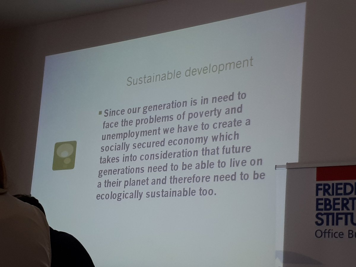 What we believe sustainable development is and how that relates to work #futureofwork #Sustainability @nycinews @Youth_Forum <br>http://pic.twitter.com/OW2LSjjwBK