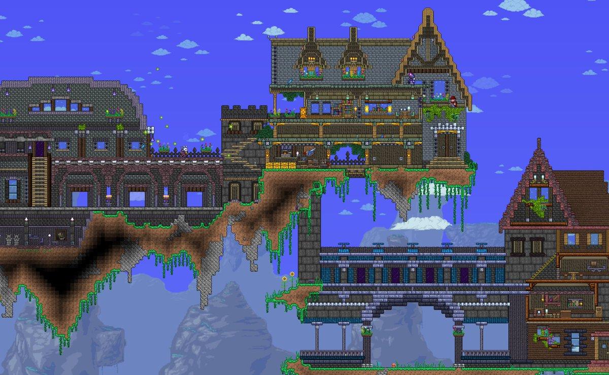 テラリア 神 建築
