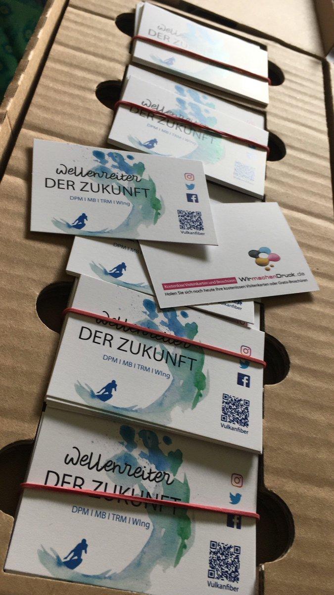 Vulkanfiber On Twitter Heute Sind Unsere 200 Visitenkarten