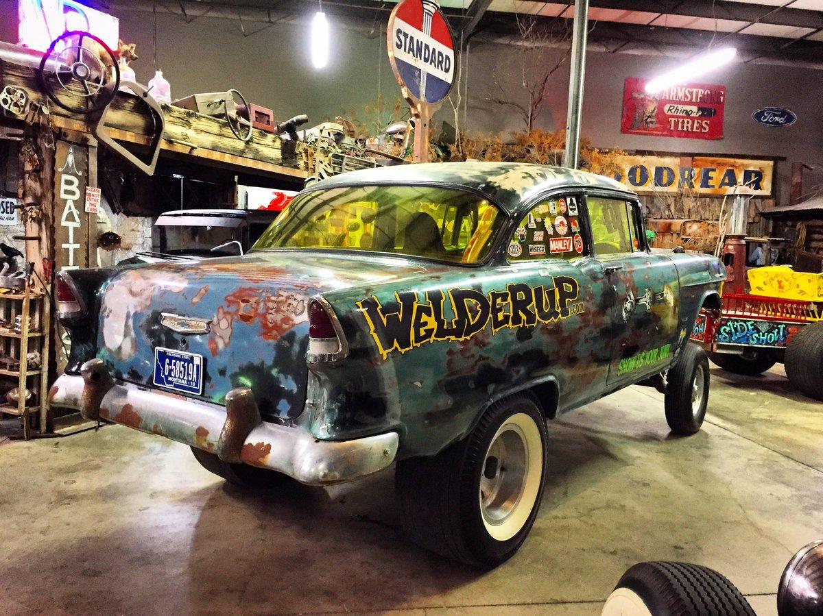Carsinthepark On Twitter Show Us Your Junk Chevy Chevrolet Gasser Trifive 55chevy Welderup Wickedgasser Fattire Whitewalls Ratrod Built By Welderupvegas Https T Co U43nphhgft