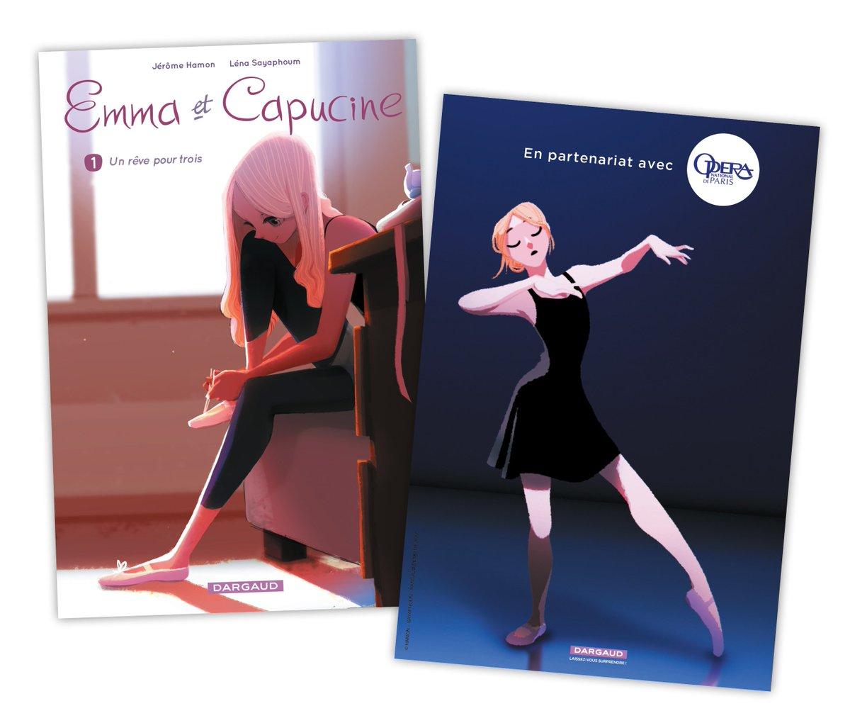 Rencontre avec Lena Sayaphoum auteure de Emma et Capucine chez @EditionsDargaud - à @IndigoGranville Samedi 3 juin 16h00! https://t.co/SjWwAt4Qqq