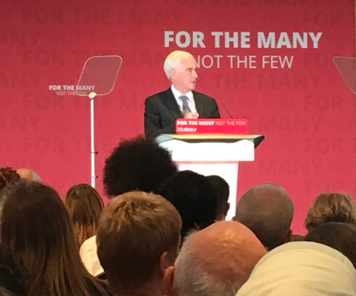 Mcdonnell hits back at Conservatives after Corbyn childcare costings gaffe: 'The only numbers in the Tory manifesto are the page numbers'