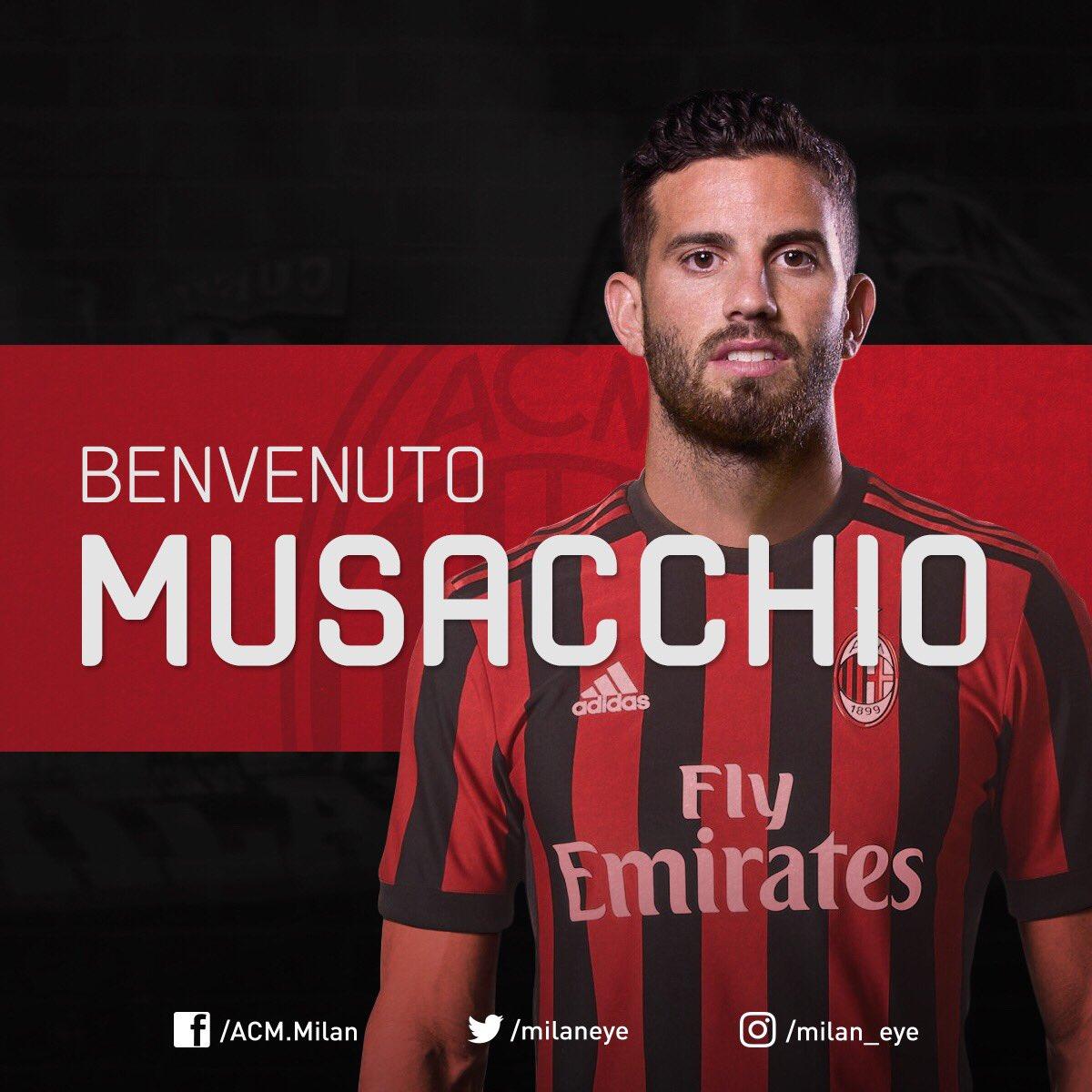 Seconda Maglia AC Milan MATEO MUSACCHIO