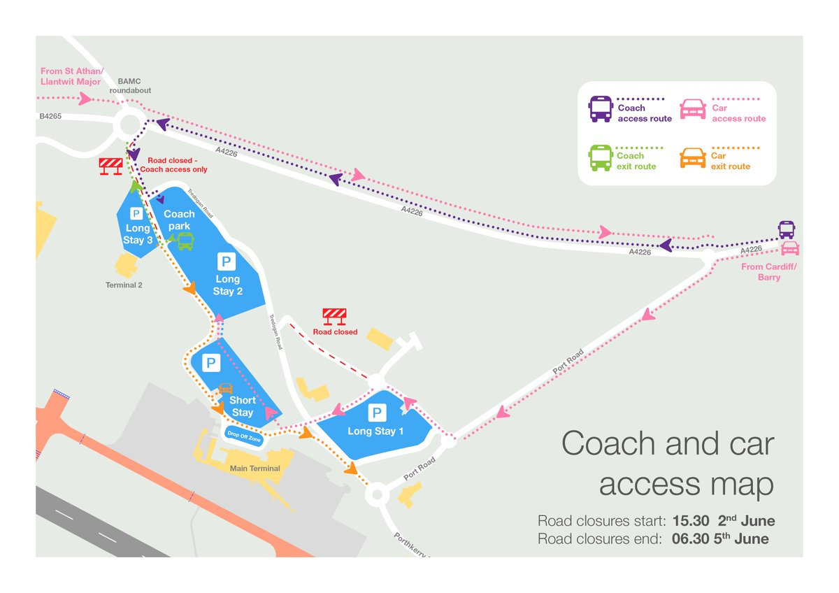 Cardiff Airport Map Cardiff Airport on Twitter: