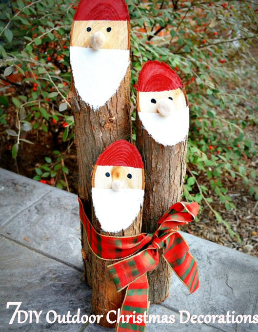 7 Supercool DIY Outdoor Christmas Decorations