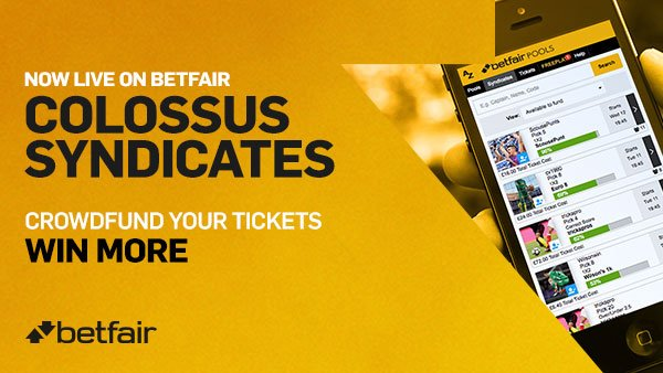 Colossus Syndicates at Betfair