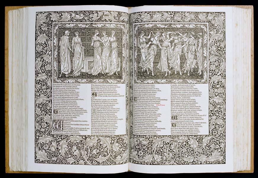 #WilliamMorris&#39;s last great work, #masterpiece of the Kelmscott Press was printed #otd 1896, with  87 illustrations by Edward Burne-Jones<br>http://pic.twitter.com/sya0f0MBKc