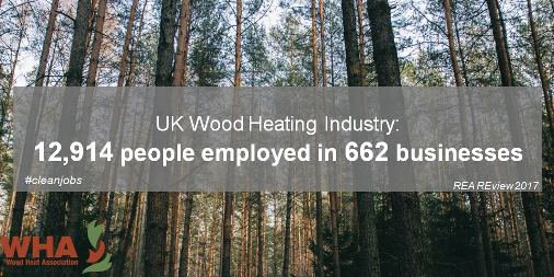 Wood heating isn't a niche sector anymore, but employs over 12,000 people  in local, #cleanjobs
