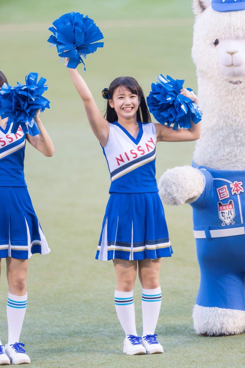 日本生命セ・パ交流戦 開幕戦での横山玲奈の衣装の画像