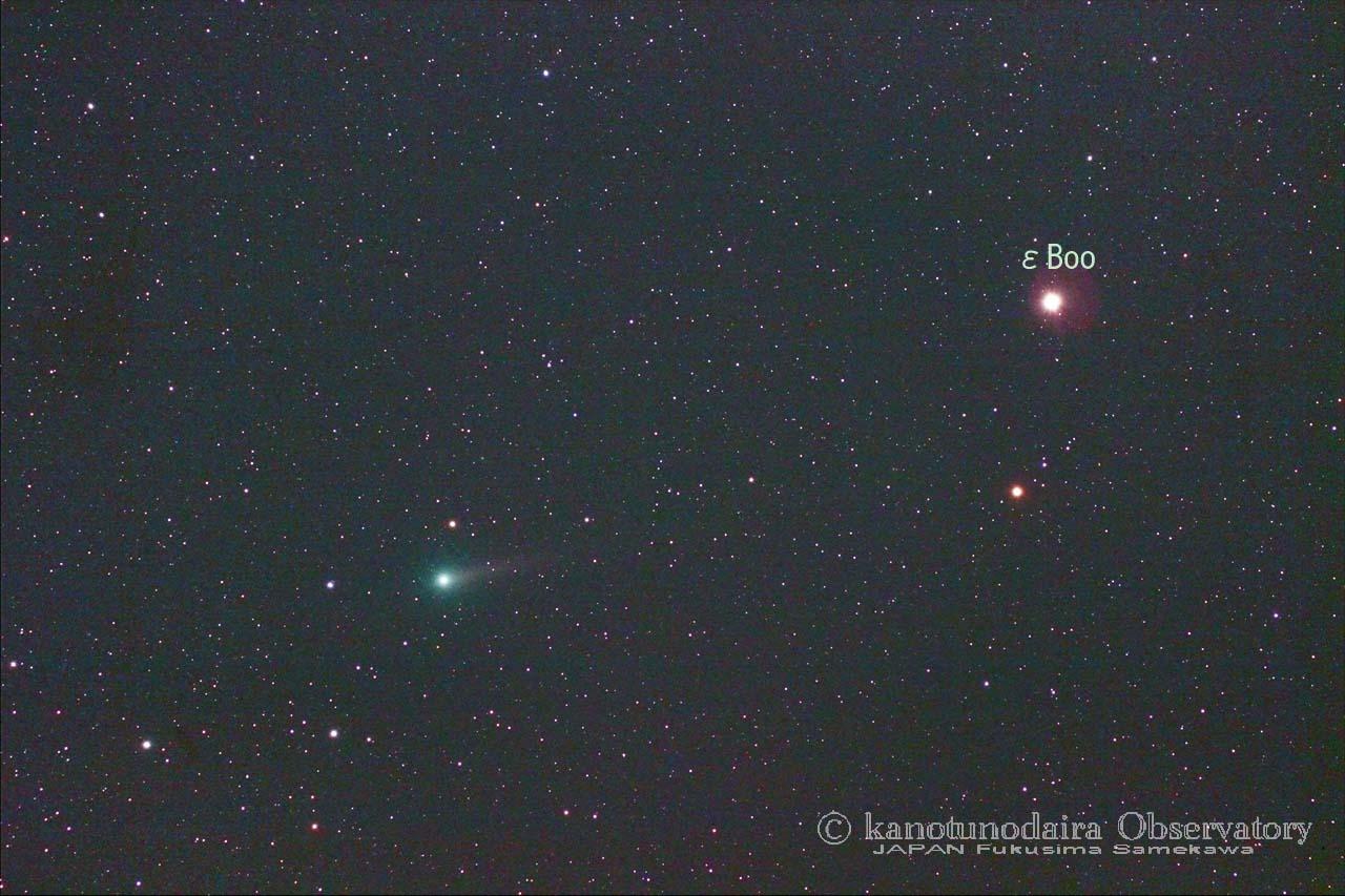 ジョンソン彗星とプルケリマ