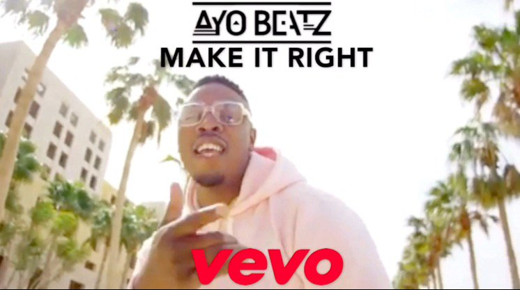 The Official Video For 'Ayo Beatz - #MAKEITRIGHT' Is OUT NOW  >> https://t.co/BrUwGwwv9o << https://t.co/HYohZvwXma