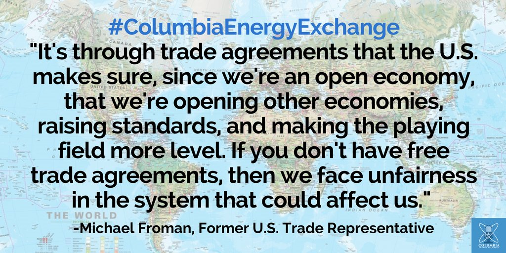 Columbia U Energy On Twitter Audio Why Are Trade Agreements