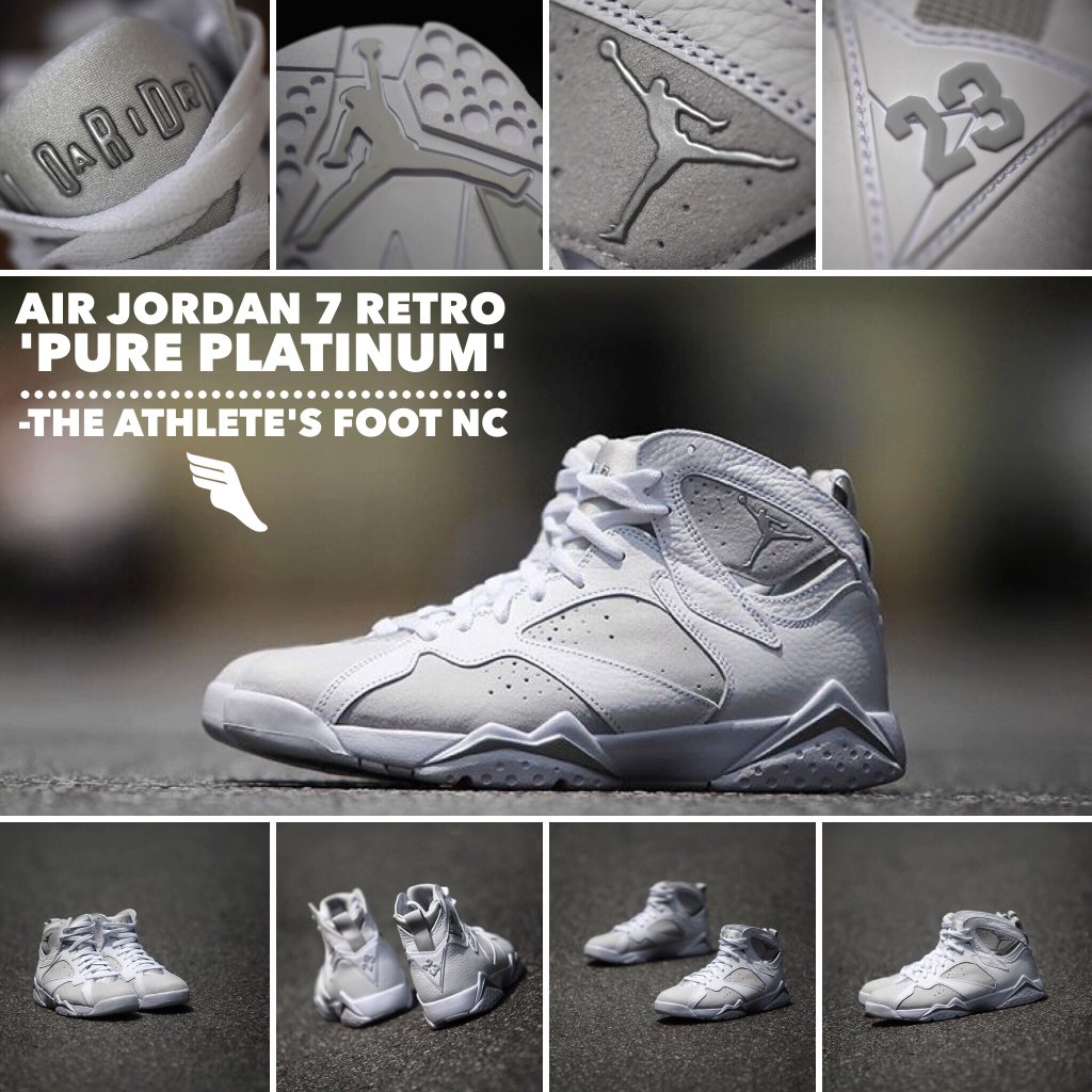 d198872c1ccb32 discount code for jordan 7 pure platinum review and on feet d4d4f 513e4   denmark tickets are now available for reservations at tafkicksnc for the air  jordan ...