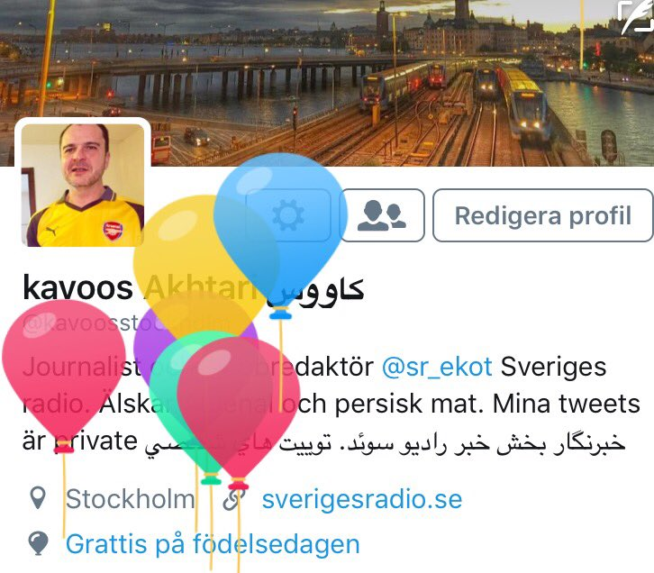 grattis på födelsedagen på persiska kavoos Akhtari كاووس on Twitter: