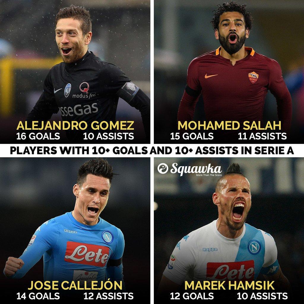 Serie Match Winners Players Goals Assists Serie Season Match Winners Squawka Football Scoopnest