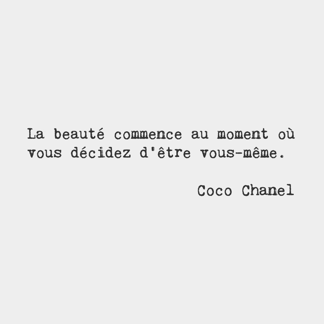 """French Words On Twitter: """"Beauty Begins The Moment You"""