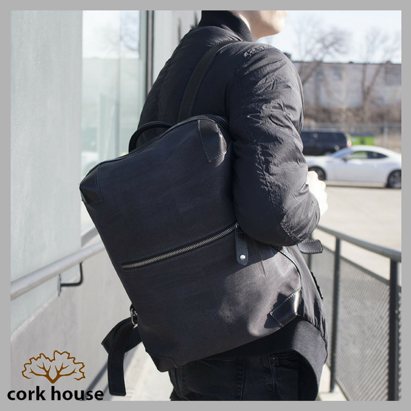 Don&#39;t underestimate the versatility of cork! #TheCorkHouse #Cork #Reusable #EcoFriendly #GoGreen #ThinkGreen #Backpack #EcoFashion<br>http://pic.twitter.com/N6fadeQCmD