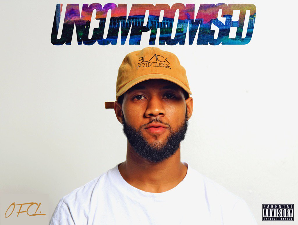"""UNCOMPROMISED"" Album!!!!!! (Front Cover) Designed by Tj & myself."