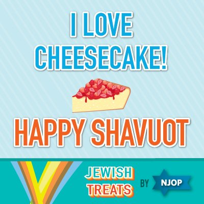 RT if you love having #cheesecake on #Shavuot!