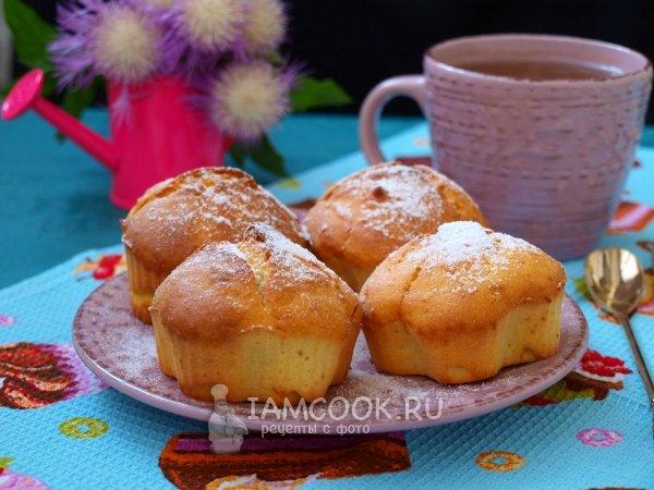 Творожные кексы рецепты в формочках